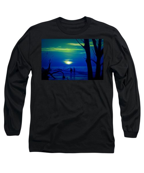 Blue Dawn Long Sleeve T-Shirt
