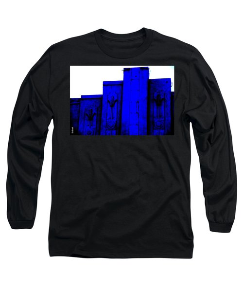 Blue Deco Long Sleeve T-Shirt