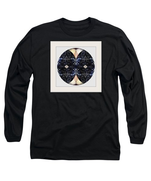 Blue Dot Long Sleeve T-Shirt by Jack Dillhunt