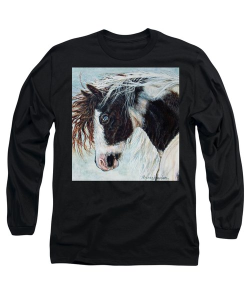 Blue Eyed Storm Long Sleeve T-Shirt