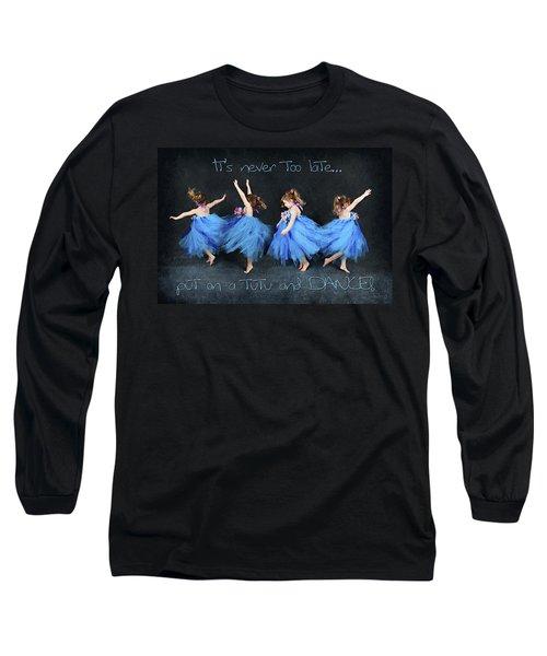 Blue Fairy Long Sleeve T-Shirt