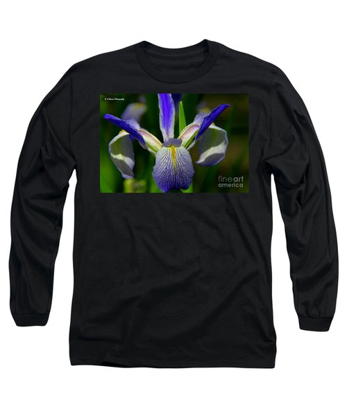 Blue Flag Iris Long Sleeve T-Shirt