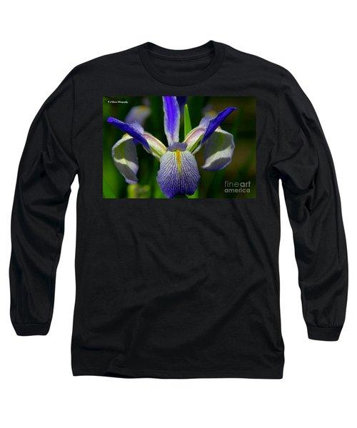 Blue Flag Iris Long Sleeve T-Shirt