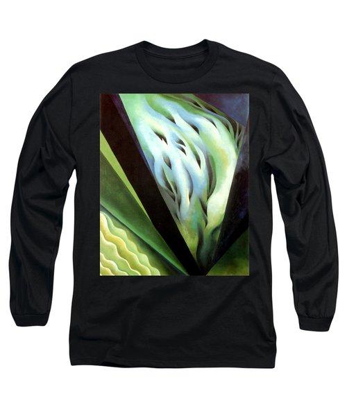 Blue Green Music Long Sleeve T-Shirt