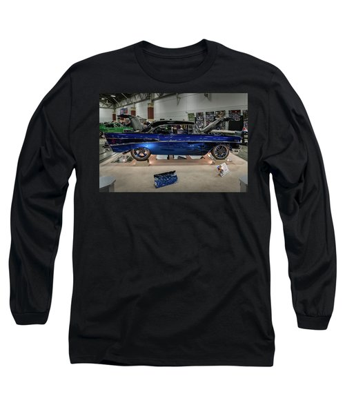 Long Sleeve T-Shirt featuring the photograph Blue Heaven by Randy Scherkenbach