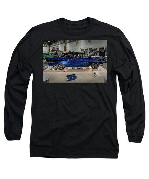 Blue Heaven Long Sleeve T-Shirt by Randy Scherkenbach