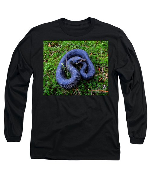 Blue Hognose Long Sleeve T-Shirt