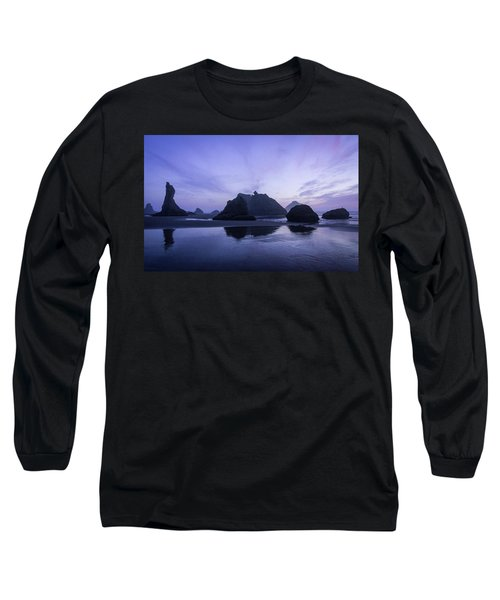 Blue Hour Reflections Long Sleeve T-Shirt