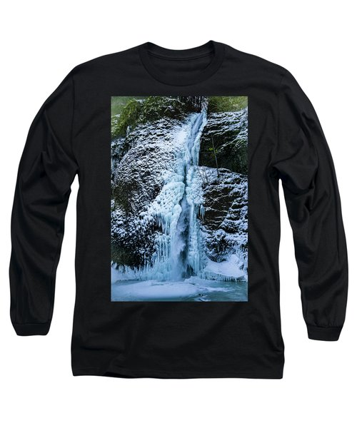 Blue Ice And Water Long Sleeve T-Shirt