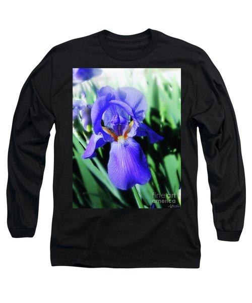 Blue Iris 2 Long Sleeve T-Shirt