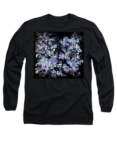 Blue Moon Long Sleeve T-Shirt by Loxi Sibley
