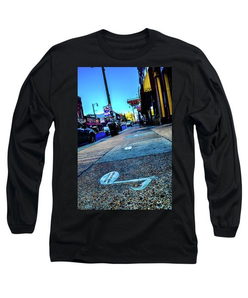 Blue Notes On Beale Long Sleeve T-Shirt