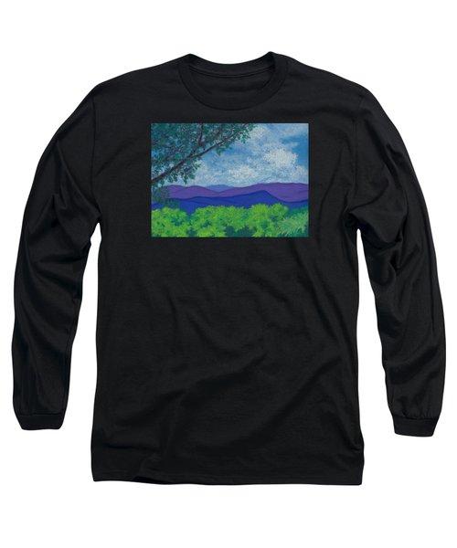 Blue Ridges 4 Long Sleeve T-Shirt