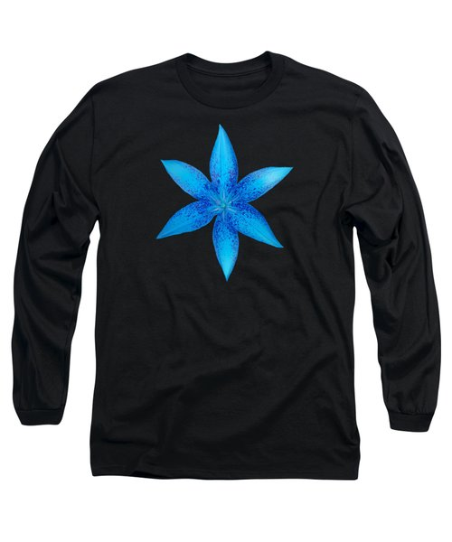 Blue Star  Long Sleeve T-Shirt
