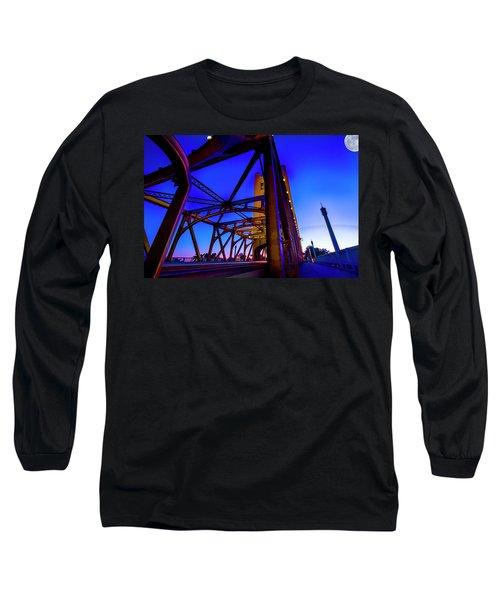 Blue Sunset- Long Sleeve T-Shirt