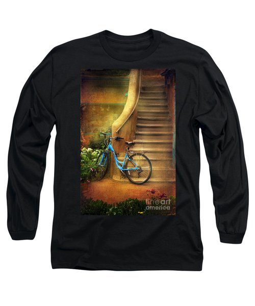 Blue Taos Bicycle Long Sleeve T-Shirt
