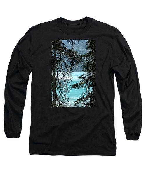 Long Sleeve T-Shirt featuring the photograph Blue Whisper by Al Fritz