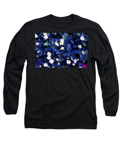 Blue White I Long Sleeve T-Shirt