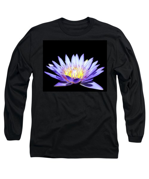 Long Sleeve T-Shirt featuring the photograph Blue Wonder by Judy Vincent