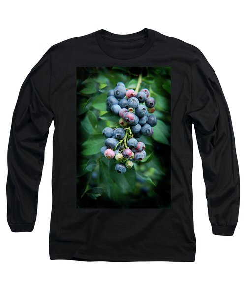 Blueberry Cluster Long Sleeve T-Shirt