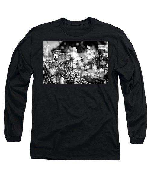 Blurry Vegas Nights IIi Long Sleeve T-Shirt