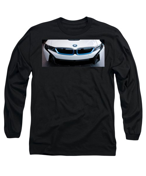 Long Sleeve T-Shirt featuring the photograph Bmw E Drive I8 by Aaron Berg