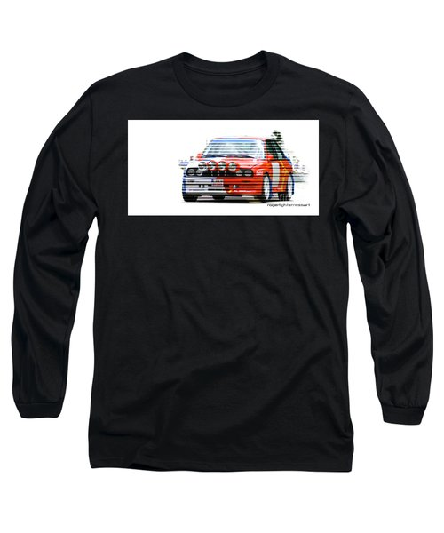 Bmw M3 Group A Long Sleeve T-Shirt by Roger Lighterness