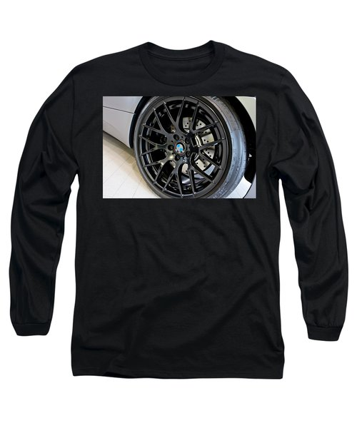 Long Sleeve T-Shirt featuring the photograph Bmw M3 Wheel by Aaron Berg