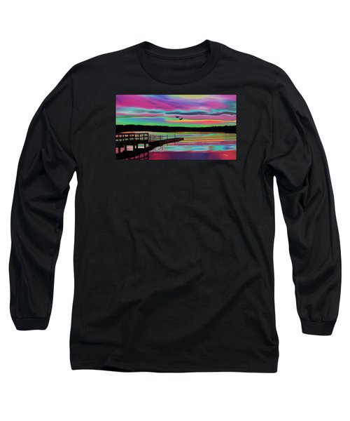 Boat Dock Long Sleeve T-Shirt