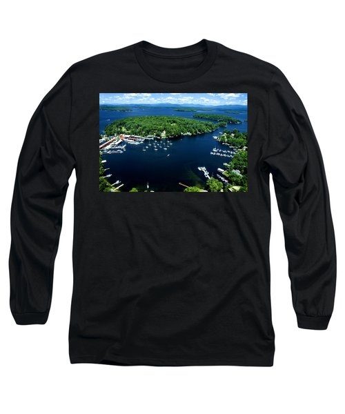 Boating Season Long Sleeve T-Shirt by Greg Fortier