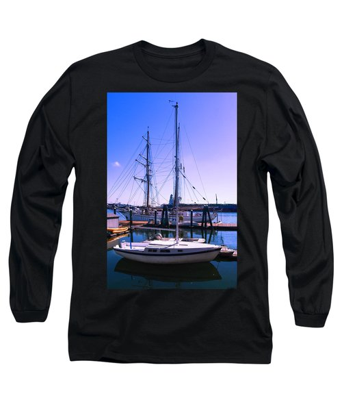 Boats And Ships Long Sleeve T-Shirt