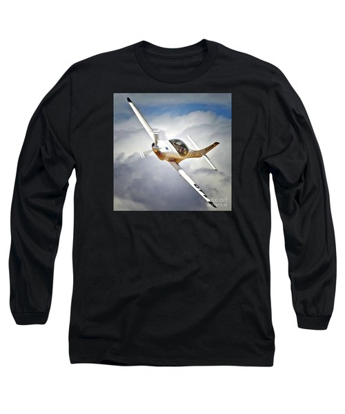 Bob Jeffrey And Lancair Race 142 I Dream Of Jeannie Long Sleeve T-Shirt