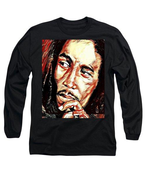 Bob Marley Long Sleeve T-Shirt