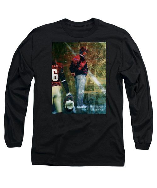 Bobby Bowden Long Sleeve T-Shirt by Paul Wilford
