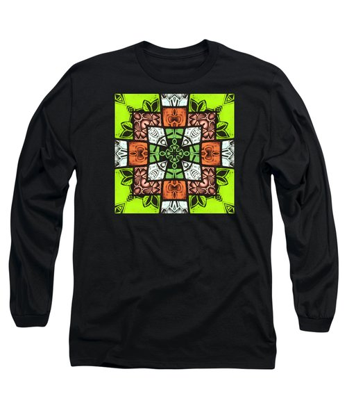 Boho Blocks Long Sleeve T-Shirt