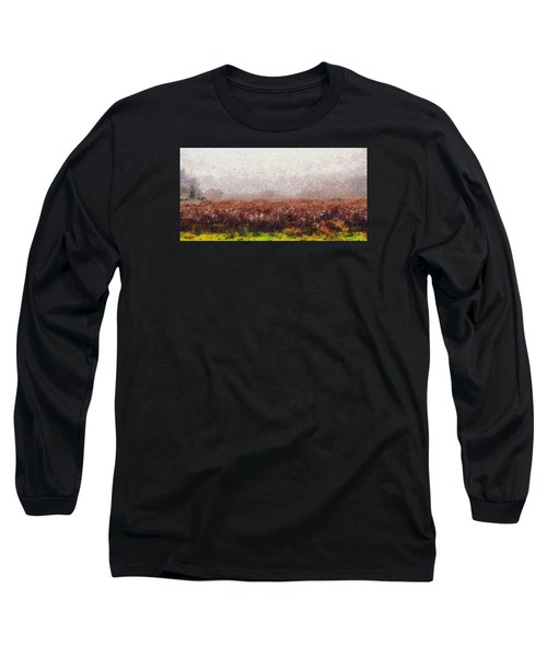 Long Sleeve T-Shirt featuring the photograph Boiling Field by Spyder Webb