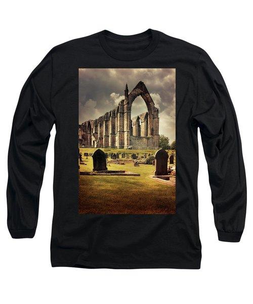Bolton Abbey In The Uk Long Sleeve T-Shirt by Jaroslaw Blaminsky