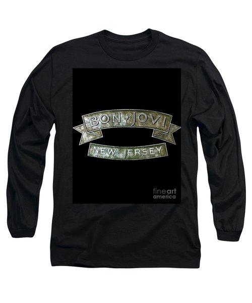 Bon Jovi New Jersey Long Sleeve T-Shirt