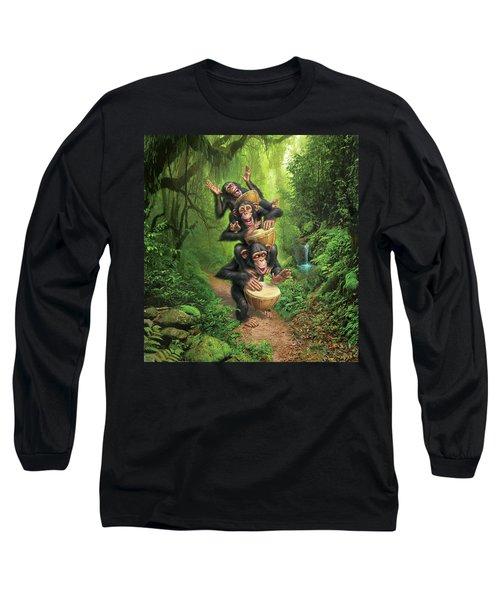 Bongo In The Jungle Long Sleeve T-Shirt