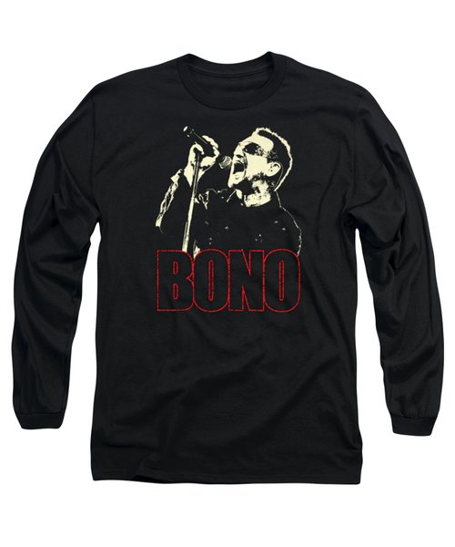 Bono Tour 2016 Long Sleeve T-Shirt by Gandi Rismawan
