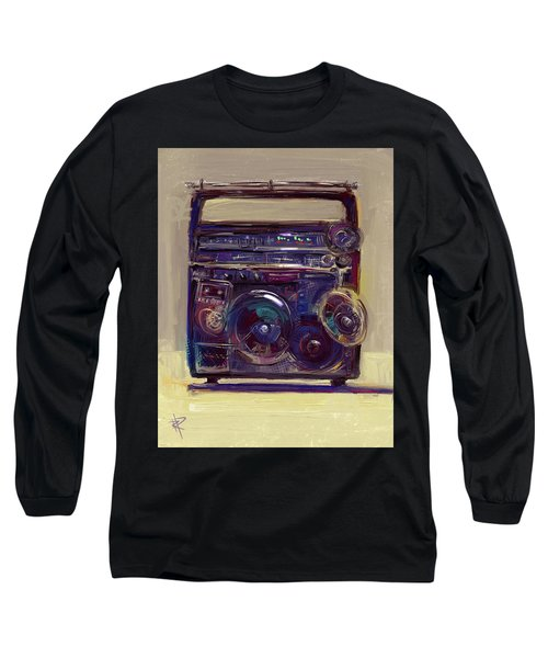 Boom Box Long Sleeve T-Shirt