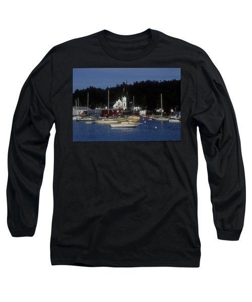 Boothbay Harbor Maine 2 Long Sleeve T-Shirt