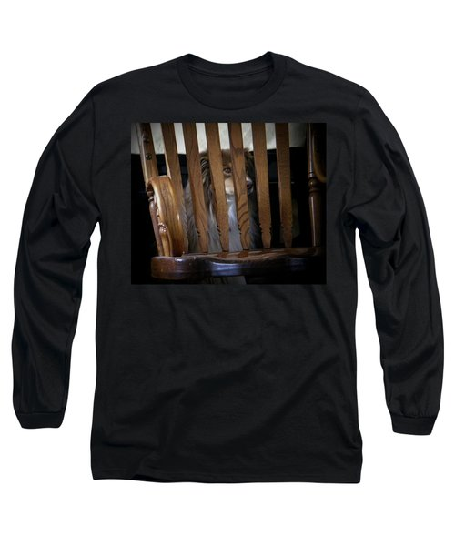Long Sleeve T-Shirt featuring the photograph Bootsie by Lenore Senior
