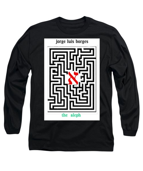 Borges' Aleph Poster Long Sleeve T-Shirt
