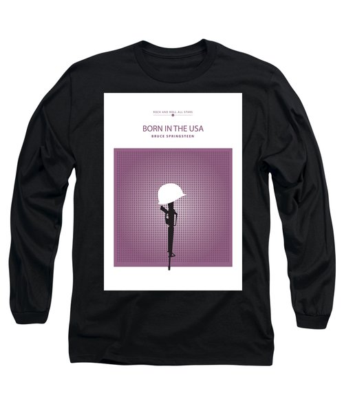 Born In The Usa -- Bruce Springsteen Long Sleeve T-Shirt