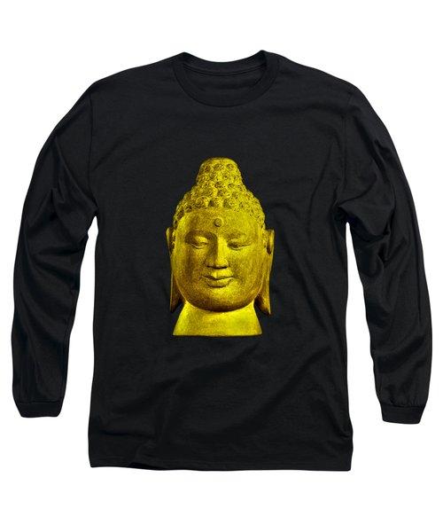 Borobudur Gold  Long Sleeve T-Shirt by Terrell Kaucher