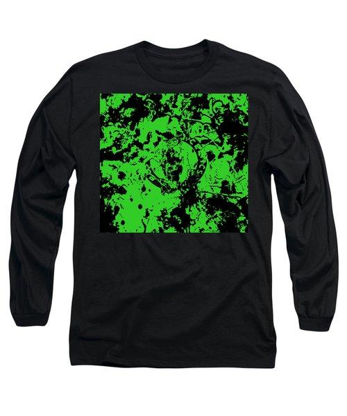 Boston Celtics 1a Long Sleeve T-Shirt by Brian Reaves