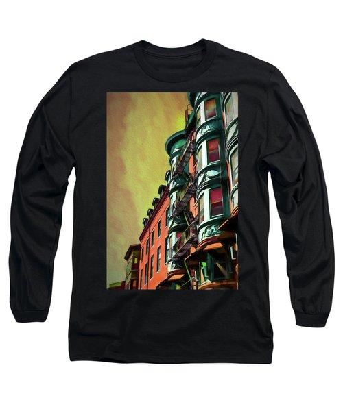 Boston's Famous North Square Long Sleeve T-Shirt