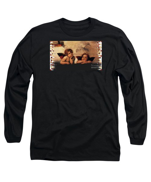 Long Sleeve T-Shirt featuring the painting Bouguereau Painting Fresh Paint  by Catherine Lott