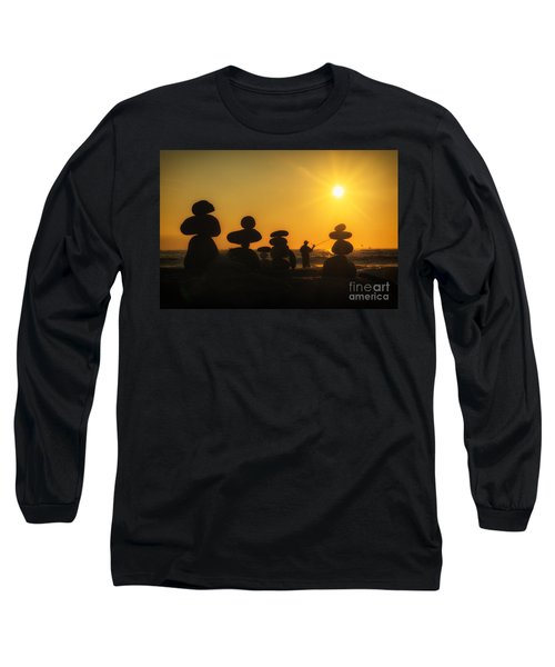 Boulders By The Sea Long Sleeve T-Shirt